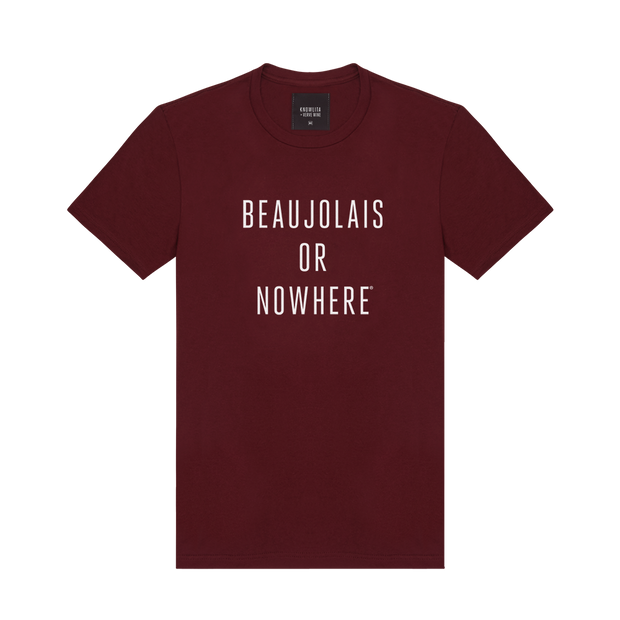 Knowlita x Verve Wine Beaujolais Tee — Maroon-Apparel-Verve Wine