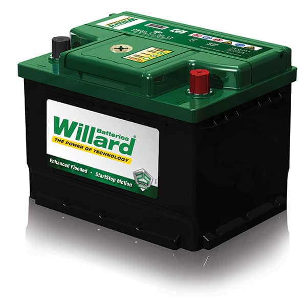 636 WIILLARD BATTERY FLAT TOP
