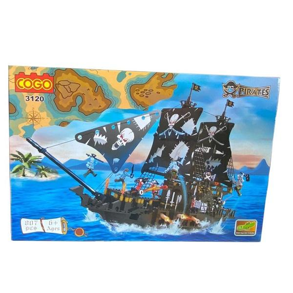 PIRATE SHIP 807 PCS BUILDING BRICKS