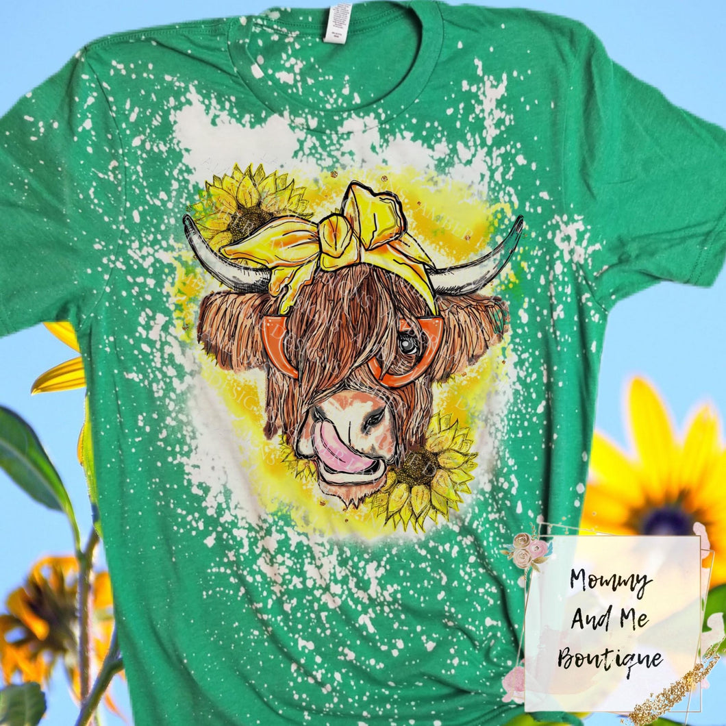 Summer Shaggy Cow