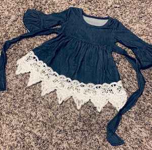 Denim lace and grace