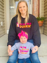 Load image into Gallery viewer, This mom runs on dunkin