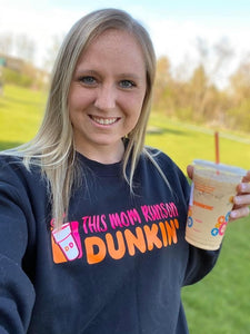 This mom runs on dunkin