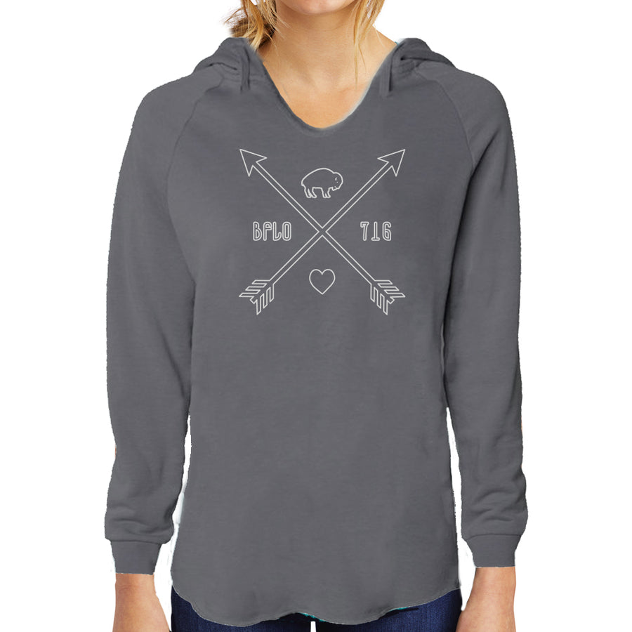 BFLO 716 Love Arrows Hoody