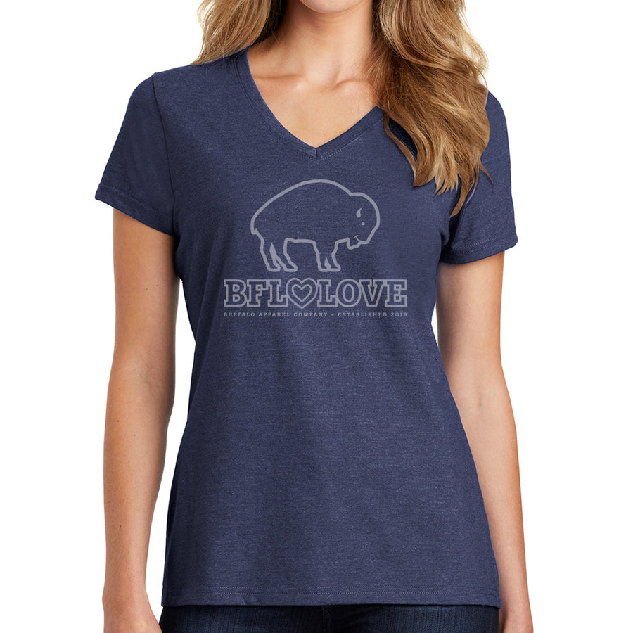 BFLO Love Cute Vneck