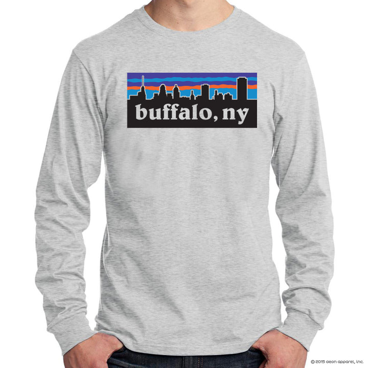BFLO, NY  Skyline - long sleeve