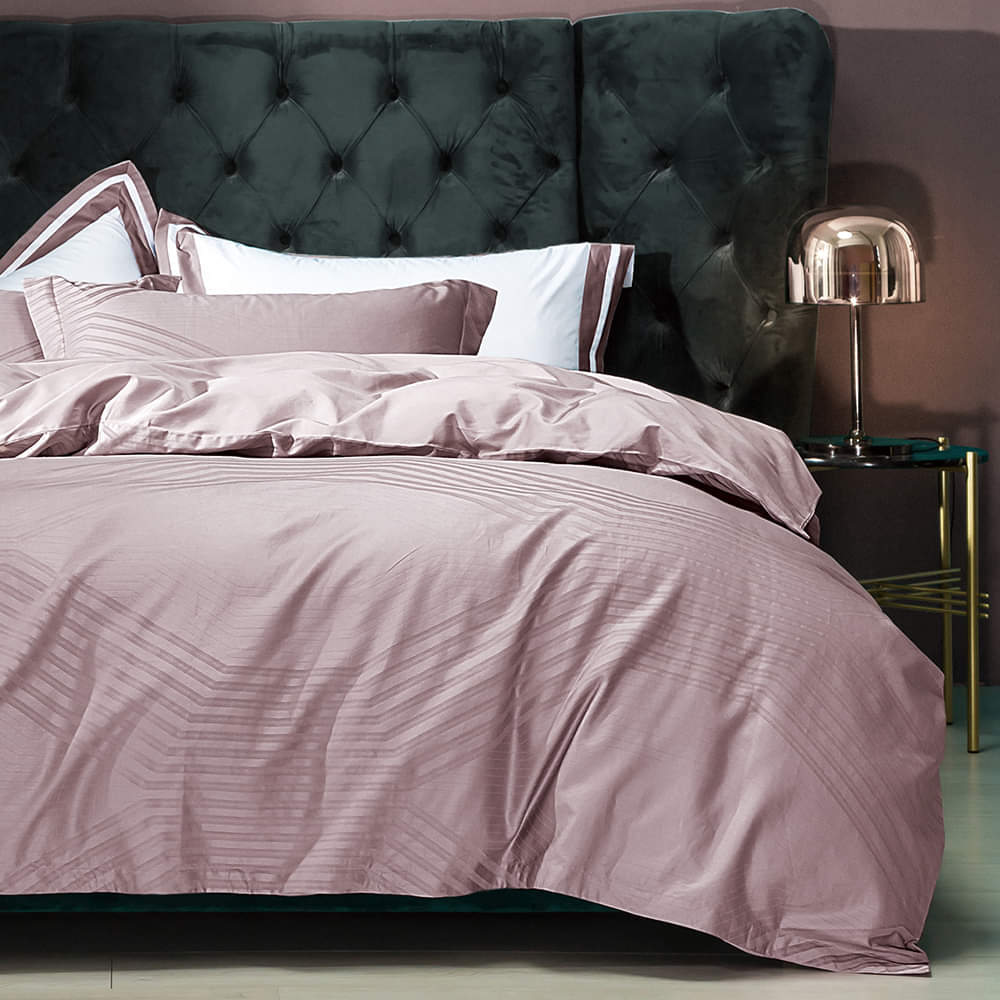 Bedding Set Fancy 4 Pcs Macchiato Lowland-Pink Rose