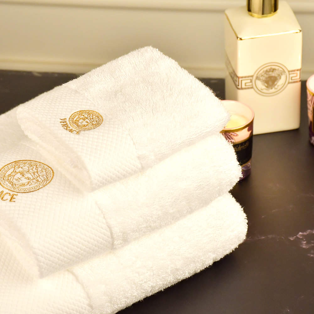 100% Refined Cotton Towels 3pc Gift Set