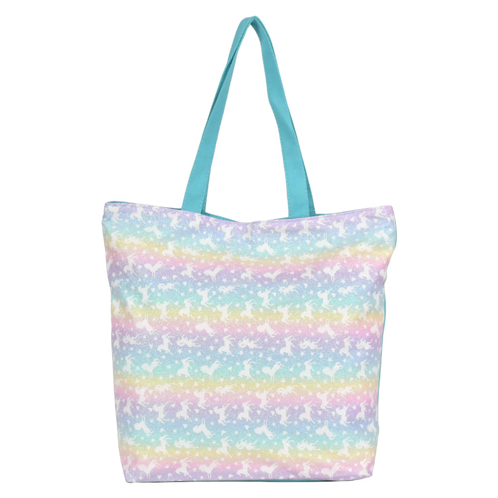 Ladies Unicorn Tote Shoulder Bag