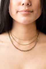 Rope Chain Choker - Waffles & Honey Jewelry