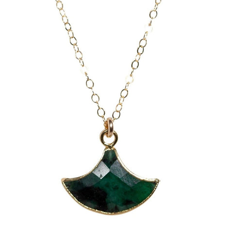 Carmen Necklace in Watermelon Tourmaline