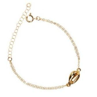 Gold Conch Shell Bracelet