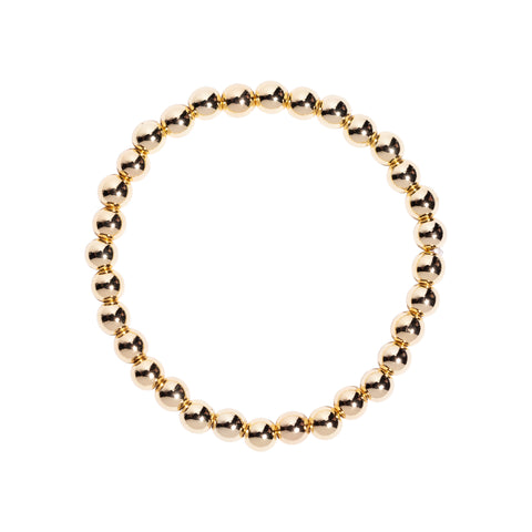 Bubble Bracelet in Gold