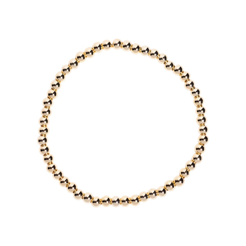 Mini Bubble Bracelet in Gold