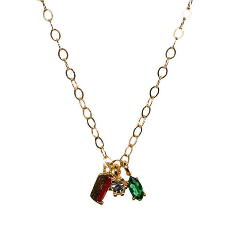 Bitty Rainbow Necklace
