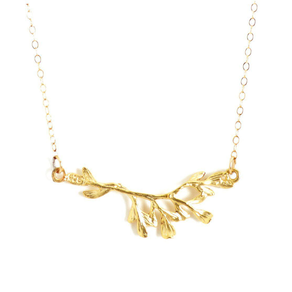 Branch Necklace-Necklaces-Waffles & Honey Jewelry-Waffles & Honey Jewelry