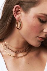 Bruna Choker in Gold-Necklaces-Waffles & Honey Jewelry-Waffles & Honey Jewelry