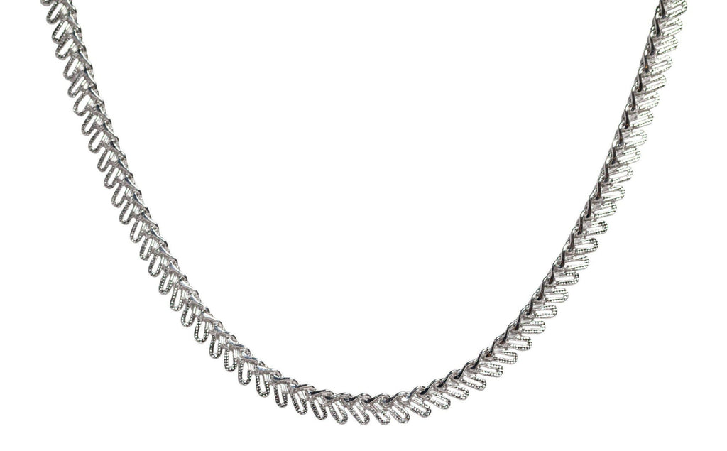 Bruna Choker in Silver-Necklaces-Waffles & Honey Jewelry-Waffles & Honey Jewelry