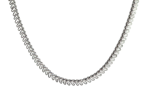 Bruna Choker in Silver