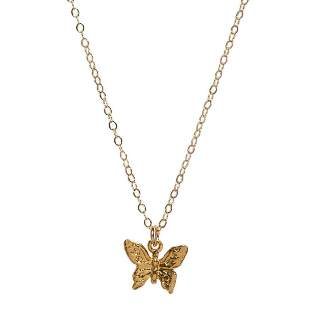 Butterfly Necklace in Gold-Necklaces-Waffles & Honey Jewelry-Waffles & Honey Jewelry