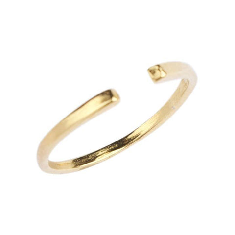 Cuff Ring in Gold