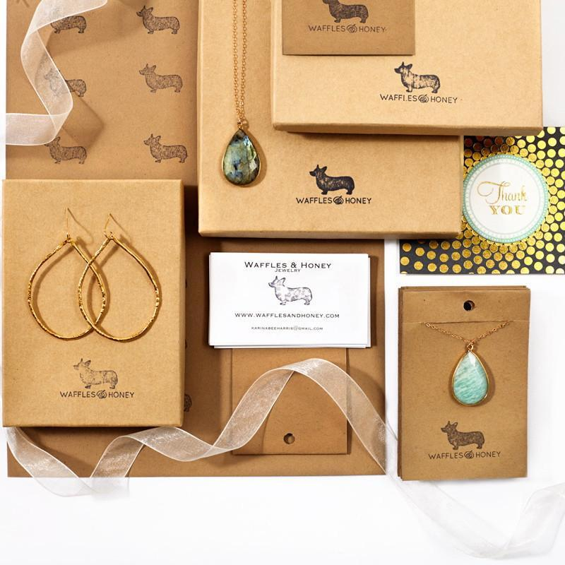 Gift Wrapping-Gift Cards-Waffles & Honey Jewelry-Waffles & Honey Jewelry