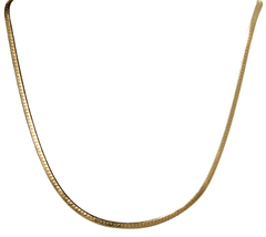 Gold Slick Chain-Necklaces-Waffles & Honey Jewelry-Waffles & Honey Jewelry