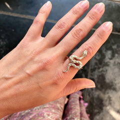 Snake Ring - Waffles & Honey Jewelry