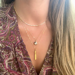 Moon Phase Necklace Gold - Waffles & Honey Jewelry
