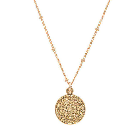 Inca Coin Necklace
