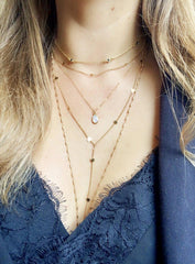 Love You Choker-Necklaces-Waffles & Honey Jewelry-Waffles & Honey Jewelry
