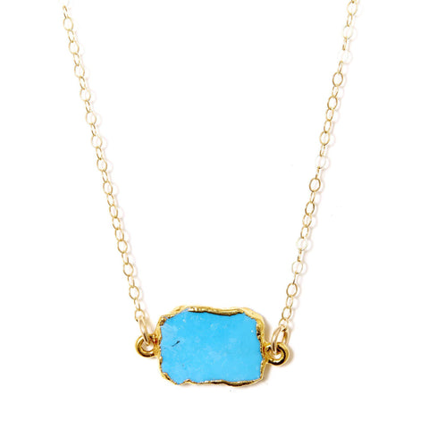 Madeline Necklace in Turquoise