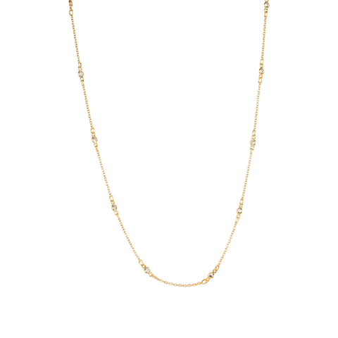 Maxie CZ Solitaire Necklace