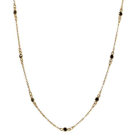 Maxie Necklace in Onyx
