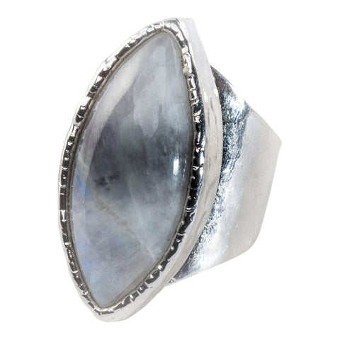 Moonstone Marquise Cocktail Ring