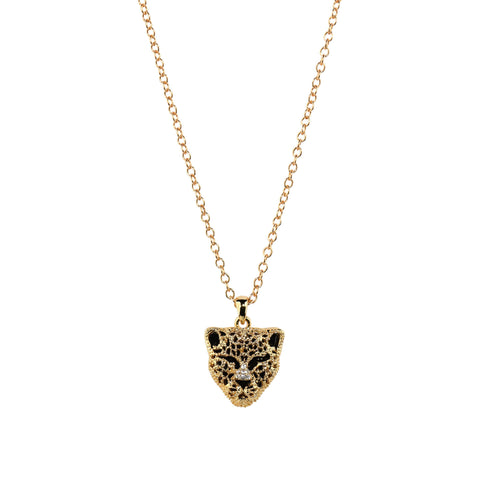 Panther Necklace in Gold