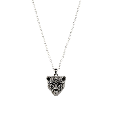 Panther Necklace in Silver