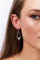 Silver Kite Earrings