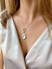 St. Barths Pearl Necklace-Necklaces-Waffles & Honey Jewelry-Waffles & Honey Jewelry
