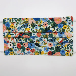 Rifle Paper Co Petit Garden Party Face Mask with Filter Pocket