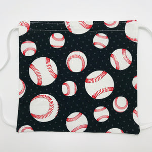 Baseball Face Mask with Adjustable Elastic Ear Loops