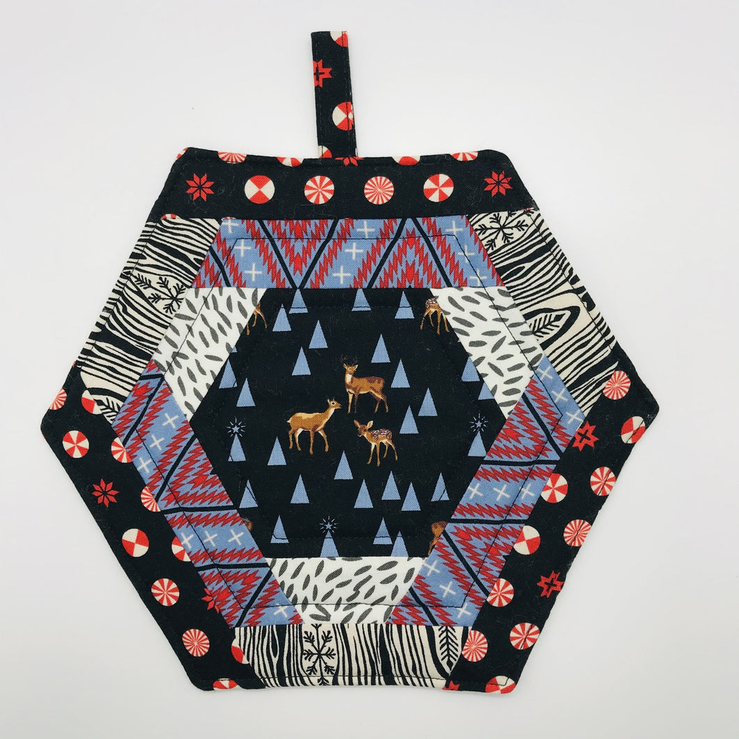 Holiday Hommies Trivet/Potholder