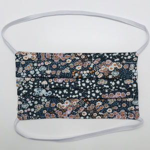 Floral Fields Face Mask with Filter Pocket