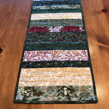 Load image into Gallery viewer, Holiday Metallic Quilted Table Runner