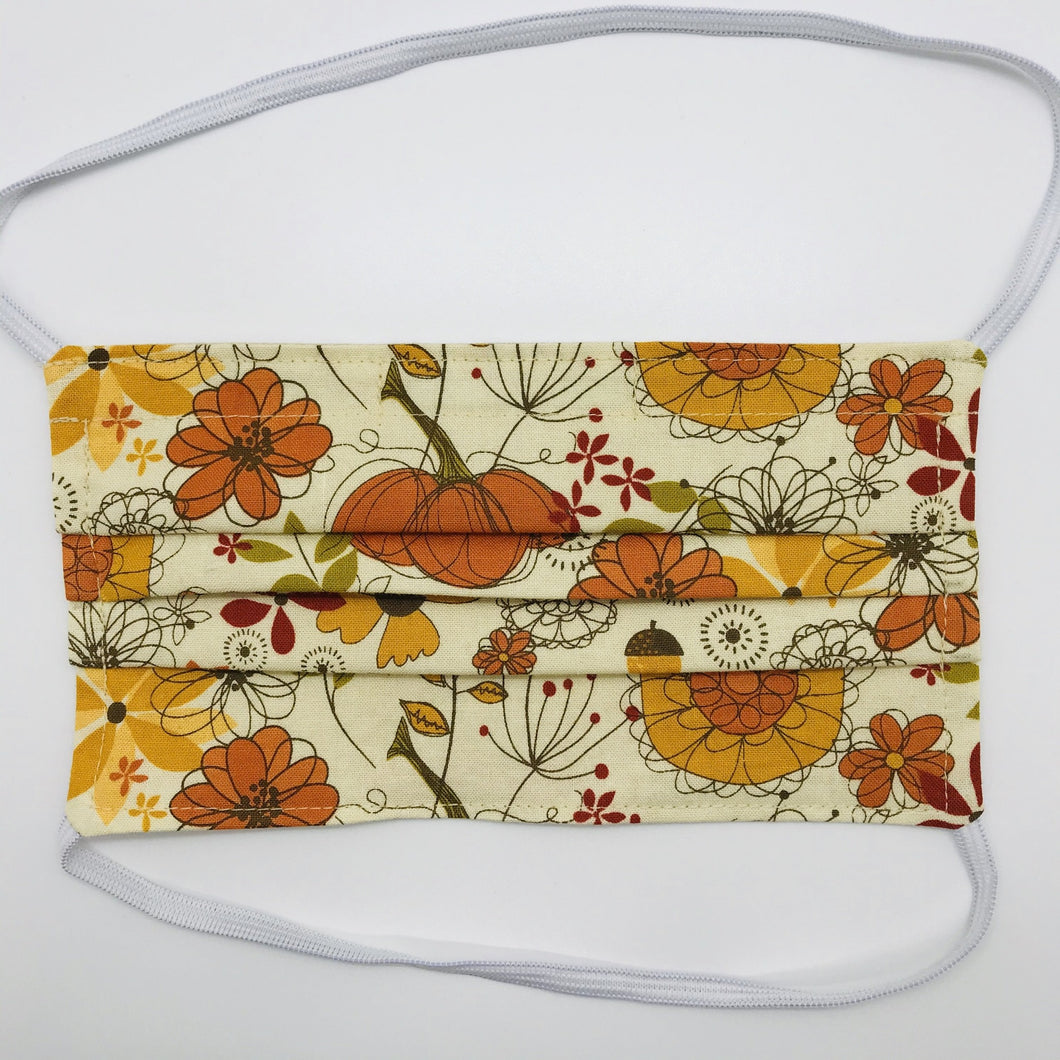 Give Thanks Face Mask with Elastic Head Loops
