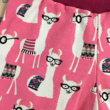 Load image into Gallery viewer, Toddler Pants | Pink Llamas