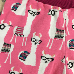 Toddler Pants | Pink Llamas