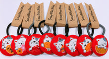 Load image into Gallery viewer, Hair Ties | Large | Red Cat
