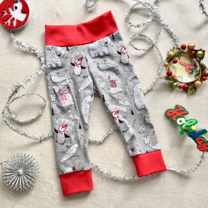 Toddler Pants | Arctic Animals | Gender Neutral