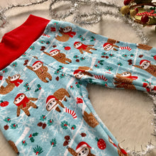 Load image into Gallery viewer, Toddler Pants | Holiday Sloths | Gender Neutral